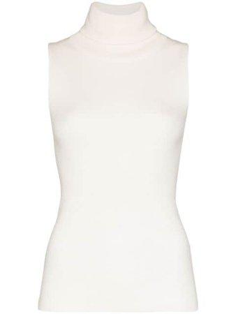 Remain Turtleneck Sleeveless Top 900479 White | Farfetch