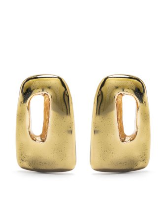 Marni abstract shape earrings - FARFETCH