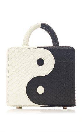 Double Handle Mini Yin-Yang Bag by Gelareh Mizrahi   Moda Operandi