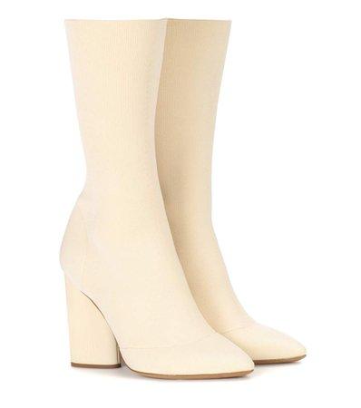 cream boots - Google Search
