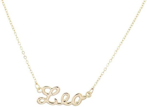 leo necklace - Google Search