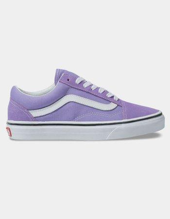 VANS Old Skool Violet Tulip & True White Womens Shoes