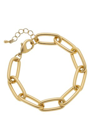 Canvas Jewelry Liv Chain Link Bracelet | Nordstrom