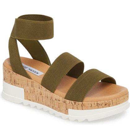 Steve Madden Bandi Platform Wedge Sandal (Women)   Nordstrom
