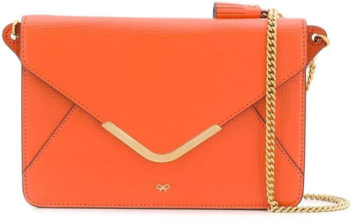 Postbox wallet shoulder bag