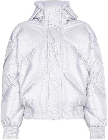 Ienki Ienki Fluoro Metallic Puffer Jacket