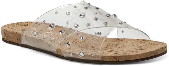 Tislie Clear Slide Sandal