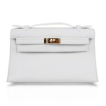 Hermes Kelly Clutch Bag