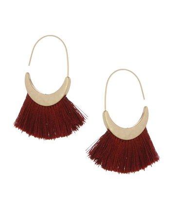 The Sak Thread Hoop Earrings & Reviews - Earrings - Jewelry & Watches - Macy's