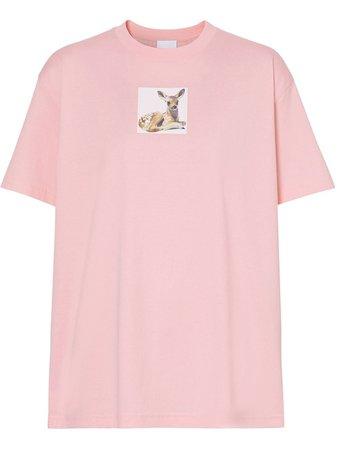 Burberry t-shirt à Imprimé Graphique - Farfetch
