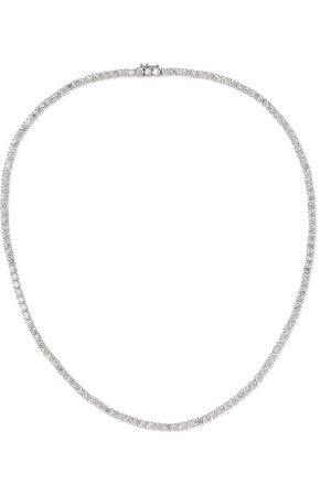 Anita Ko   Hepburn 18-karat white gold diamond necklace   NET-A-PORTER.COM