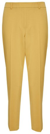 Yellow Ankle Grazer Trousers