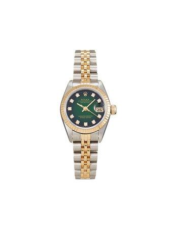 Rolex 1995 pre-owned Lady-Datejust 26mm - Farfetch