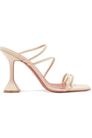 Amina Muaddi | Naima leather sandals | NET-A-PORTER.COM
