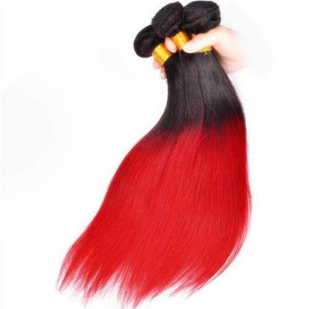 Ombre Red hair bundles
