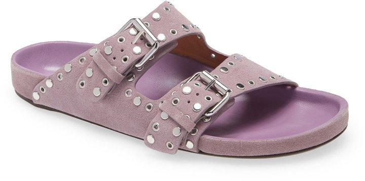 Lennyo Studded Slide Sandal