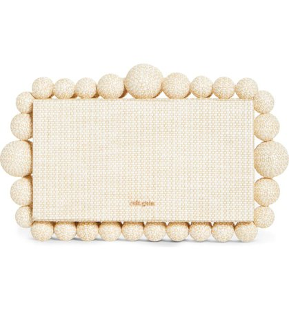 Cult Gaia Eos Beaded Box Clutch | Nordstrom
