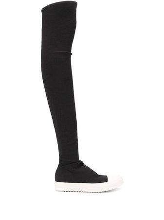 Rick Owens Drkshdw Thigh-High Sneaker-Style Boots Ss20 | Farfetch.com