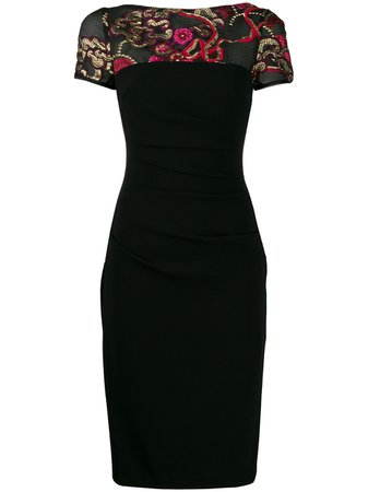 Talbot Runhof Bonsai dress