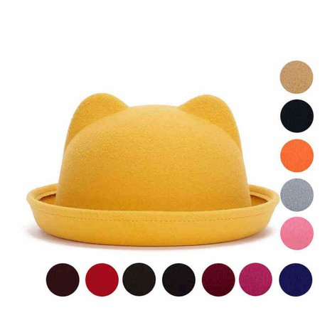 Yellow Ear Hat