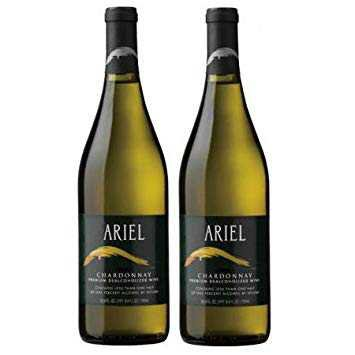Ariel Chardonnay Non-alcoholic White Wine Two Pack