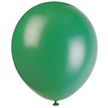 "Amazon.com: 12"" Latex Forest Green Balloons, 72ct: Kitchen & Dining"