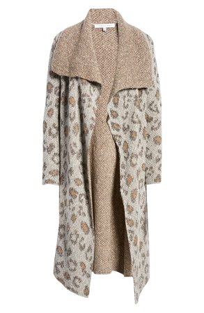 cupcakes and cashmere Mel Drape Longline Cardigan | Nordstrom