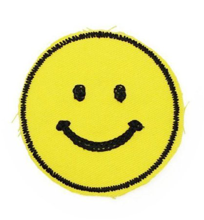 Smiley Face Patch