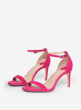 Wide Fit Pink 'Soda' Square Sandals | Dorothy Perkins