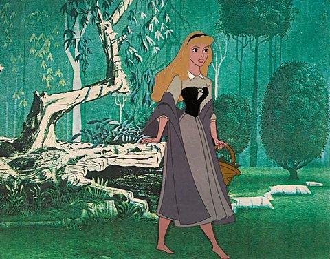A celluloid of Briar Rose from Sleeping Beauty by Walt Disney Studios on artnet