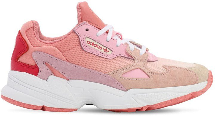 Falcon Suede & Mesh Sneakers