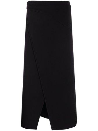Givenchy, asymmetric high-waisted skirt