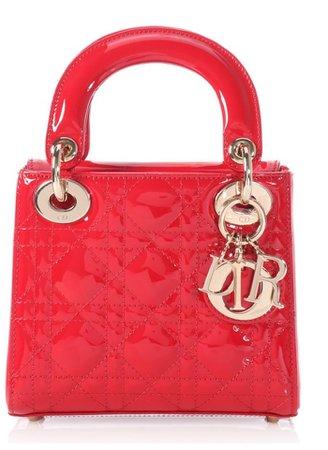mini red dior purse
