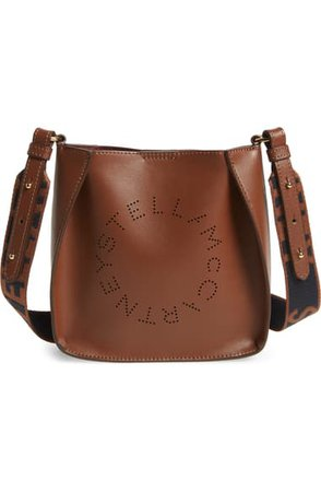 Stella McCartney Logo Alter Nappa Faux Leather Crossbody Bag | Nordstrom