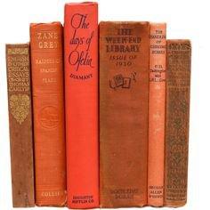 orange red books