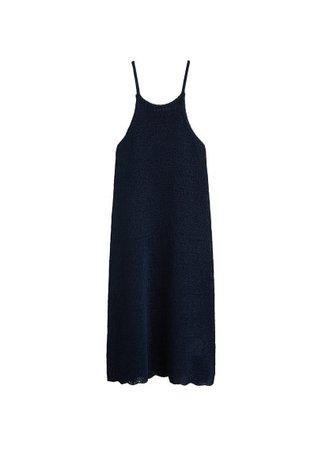 MANGO Knit shift dress