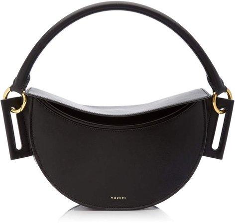 Dip Leather Shoulder Bag