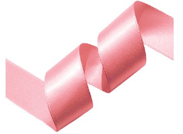 Ipaper Double Faced Satin Ribbon 16mm Tickled Pink 25m Roll