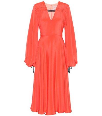 Houma silk dress