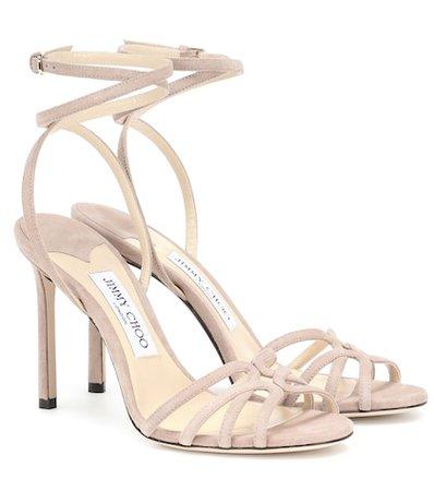 Mimi 100 suede sandals