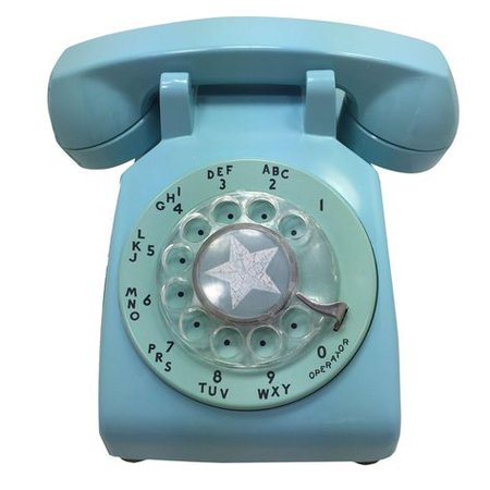 blue filler telephone vintage png
