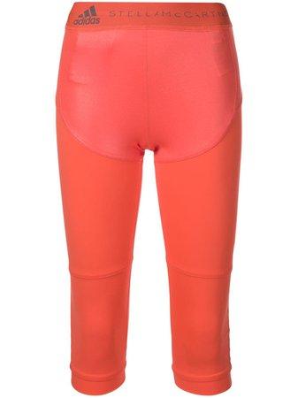 Adidas By Stella Mccartney Cropped Performance Leggings Ss19 | Farfetch.com