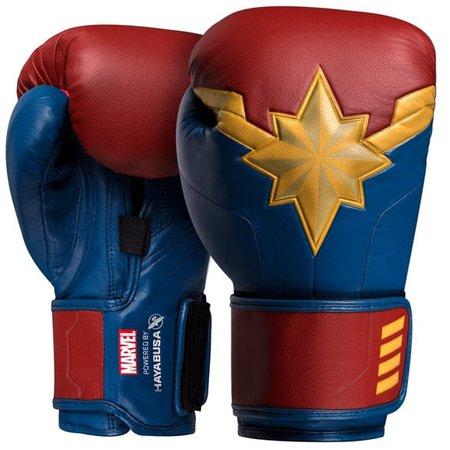 captain marvel boxing gloves