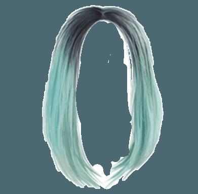 hairstyles hairdo haircolor bluehair blue hair longhai...