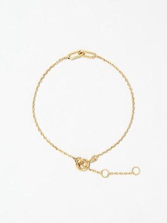 Gold Link Chain Bracelet - Uma | Ana Luisa Jewelry