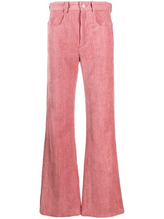 Isabel Marant Étoile Delvira corduroy trousers AW20 | Farfetch.com
