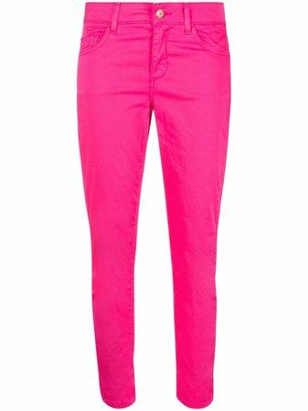 LIU JO high-waisted cropped skinny jeans