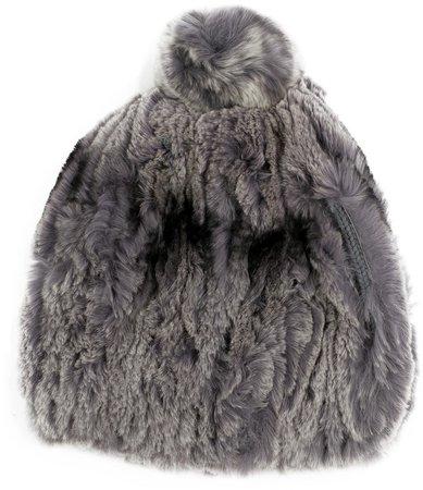 Bently Genuine Rabbit Fur Beanie