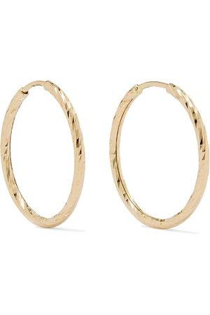 Maria Black | Liv gold hoop earrings | NET-A-PORTER.COM
