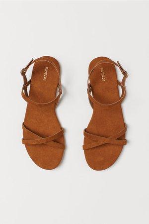 Sandals - Brown - Ladies | H&M US